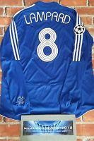 LAMPARD Chelsea Champions league LONG SLEEVE football Shirt XL MENS