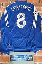 Lampard Chelsea Champions League di calcio a maniche lunghe Camicia XL DA UOMO
