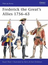 Prussian Frederick the Great's Allies 1756-63 Men At Arms 460 Reference Book