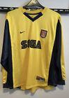 Arsenal Sega Away 1999-2000 Long Sleeve Xl RARE !