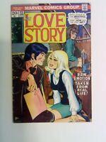 Our Love Story v1 #22 Marvel 1973 VG+ Stan Lee John Buscema Gene Colan Romita