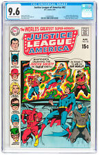 Justice League of America #82 CGC NM+ 9.6 Batman Neal Adams