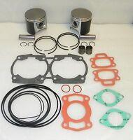 WSM Seadoo 720 Platinum Piston Rebuild Kit 010-817-14p  1mm SIZE OEM 290887180