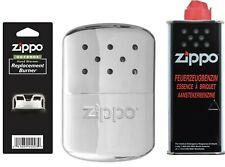 Zippo Accendino Hand Warmer Benzin Chrome