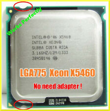 Intel Xeon X5460 3.16GHz Quad-Core = Core 2 Quad Q9650 Lga 775 CPU 1333Mhz SLBBA