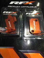 RFX Brake & Clutch Master Cylinder Reservoir Caps KTM SX-F/EXC-F 250/400/450/525