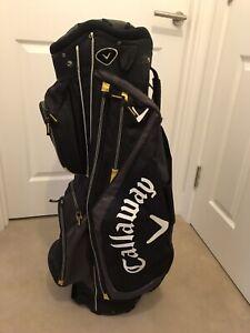 Callaway Warbird Cart Bag. Good Condition + New Rain Hood.