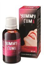Yummy Cum Drops Semen Flavour Enhancer For Men Daily Liquid Food Supplement 30ml