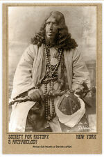 WHIRLING DERVISH African Sufi Acetic 1925 PHOTOGRAPH CARD VINTAGE A+ CDV
