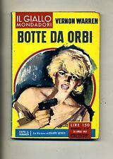 Vernon Warren # BOTTE DA ORBI # Mondadori 1962 N.691