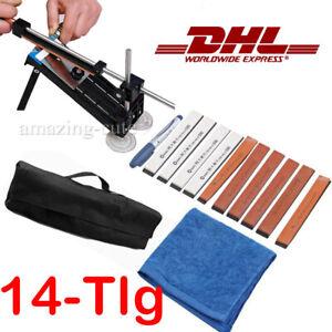 14x Set Messerschleifer Messerschärfer System+ 10 Schleifstein Messer Sharpener
