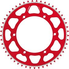 APICO REAR SPROCKET EVOLITE HONDA CR125 87-07 CR250 90-07 CR500 84-01 52T RED
