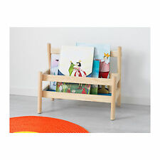 NEW IKEA Bookshelf Book Rack Display Shelf Children Storage Wooden Solid Pine