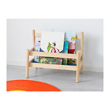 IKEA Bookshelf Book Rack Display Shelf Children Storage Wooden Solid Pine