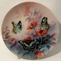 Bradford Exchange Collection Of Wl George Fine China Plate #10457-B