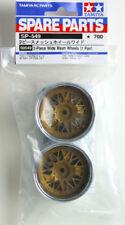 Tamiya 50549 1/10 RC On Road Touring Car 2-Piece Wide Mesh Wheels (32mm,2pcs)Set