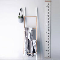 Baby Height Growth Chart Hanging Rulers Kids Room Wall Wood Frame Home Decor New