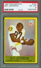 1967 Philadelphia Roy Jefferson #152 PSA 6 Steelers New Holder Set Break