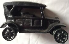 """Vtg Reproduction Cast Iron Ford Car Collectible Model """"A� Mint!"""