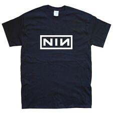 NIN nine inch nails  T-SHIRT sizes S M L XL XXL colours Black, White