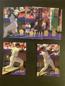 1993 Leaf Colorado Rockies Inaugural Team Set 16 Cards
