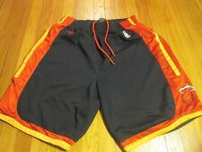 ADIDAS NBA MIAMI HEAT SWINGMAN GAME SHORTS SIZE XL