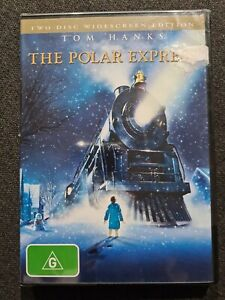 The Polar Express DVD - 2 Discs - Region 4 - BRAND NEW SEALED