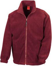 Damen/Herren Fleece Jacke 10 Farben Gr:XS-3XL Rei�Ÿverschlu�Ÿ Taschen weich&warm