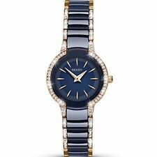 Sekonda Seksy Entice Ladies Swarovski Crystal Blue Ceramic Watch RRP£124.99 2382