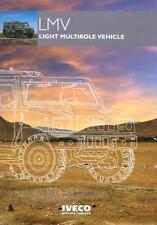 IVECO LMV 2014 4x4 MILITARY BROCHURE PROSPEKT FOLDER CATALOGUE
