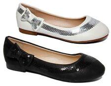 Slipper Schuhe für Mädchen im Ballerinas-Stil aus Kunstleder