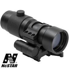 NcSTAR Tactical Rifle Weaver Flip To Side QR Quick Release Mount 3x Magnifier