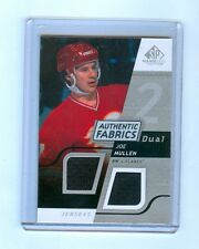 JOE MULLEN 2008-2009 SP GAME USED AUTHENTIC FABRICS DUAL JERSEY CARD