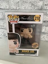 Bruce Lee Enter The Dragon Black Bait Exclusive #218 Pop Vinyl Figure Funko