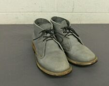 Truman Boot Company Gray Leather Desert/Chukka Boots Dainite Soles US Men's 9 E