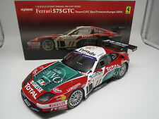 Kyosho 08393A  Ferrari 575 GTC  Spa-Francorchamps 2004  (TEAM G.P.C) 1:18 OVP !