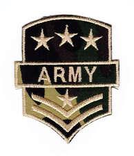 ak29 Army Abzeichen Sterne Camouflage Tarnfarben Aufnäher Bügelbild Applikation
