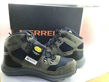 Merrell Ontario 85 Mid Waterproof Olive Green Men Outdoors Shoes Boots J84961