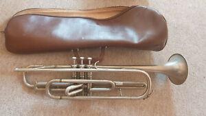 "Nice used  Eb trumpet ""K&H Kühnl"" (Kühnl & Herold) Gli Fra w. gigbag"
