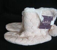 91483e9f7c5 Women s Kooba Fleece Lined Faux Fur Cushioned Slippers Size S M