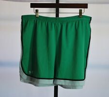 Under Armour Green/White Athletic Shorts Men's Sz L