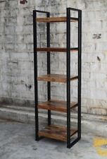 Iron and reclaimed wood display case