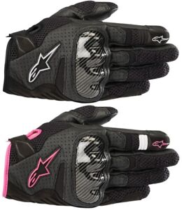 Alpinestars SMX-1 Air V2 Leather Street Gloves Womens All Sizes and Colors