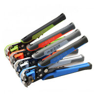 New Self Adjusting Insulation Wire Stripper Cutter Crimper Cable Stripping Tools