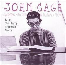 JOHN CAGE JULIE STEINBERG Sonatas & Interludes For Prepared Piano CD MAGGI PAYNE