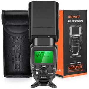 Neewer 2.4G HSS 1/8000s TTL GN58 Wireless Master Slave Flash Speedlite for Sony