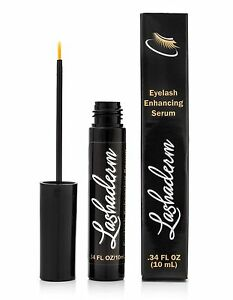 Lashaderm- Rapid Eye lash Growth Serum -Enhancer- Thicker Longer Eyelashes
