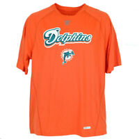 NFL Reebok Miami Dolphins Speedwick On Field Performance Sportswear Shirt Tshirt
