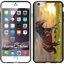 Sunset Running Horse For Iphone 6 Plus 5.5 Inch Case Cover