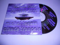 Céline Dion , Kaas, Fugain, Claude François  - cd promo 4 titres